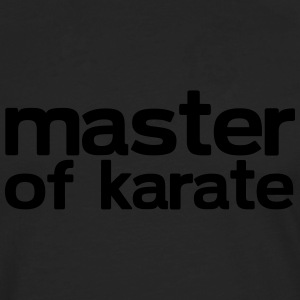 Master of Karate - Men's Premium Longsleeve Shirt