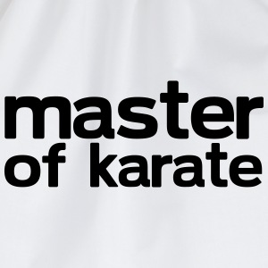 Master of Karate - Drawstring Bag