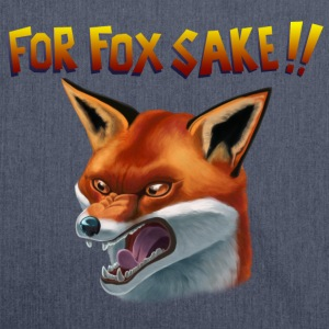 For Fox Sake!! Tee shirts - Sac bandoulière 100 % recyclé