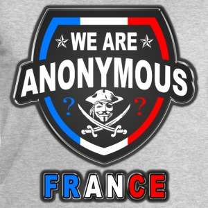 we are anonymous france Tee shirts - Sweat-shirt Homme Stanley & Stella
