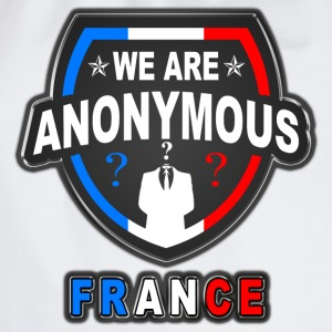 we are anonymous france Tee shirts - Sac de sport léger