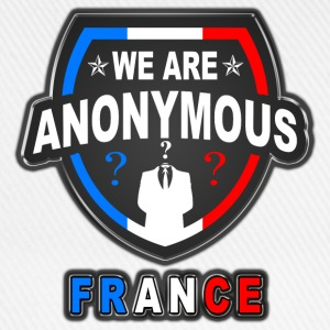 we are anonymous france Tee shirts - Casquette classique