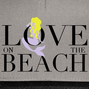 LOVE ON THE BEACH - Casquette snapback