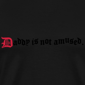 daddy is not amused  Långärmade T-shirts - Premium-T-shirt herr