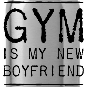 THE GYM IS MY NEW FRIEND T-shirts - Drinkfles