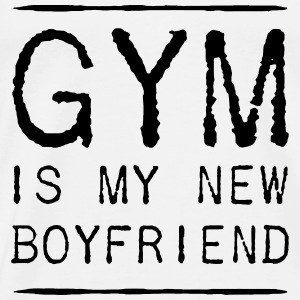 THE GYM IS MY NEW FRIEND Débardeurs - T-shirt Premium Homme