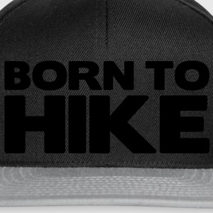 born to hunt - Snapback Cap