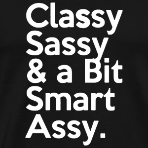 CLASSY SASSY ASSY Manches longues - T-shirt Premium Homme