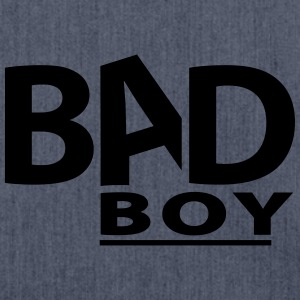 Bad Boy - Schultertasche aus Recycling-Material