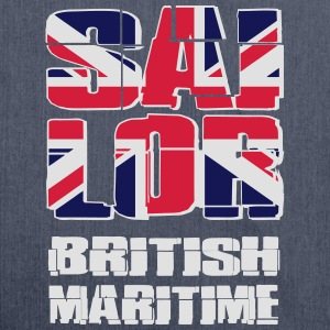 UK Maritime Sailor Tanktops - Schoudertas van gerecycled materiaal