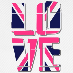Union Jack - Love T-shirts - Baseballkasket