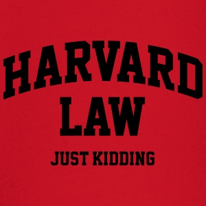 Harvard Law - Just kidding T-skjorter - Langarmet baby-T-skjorte