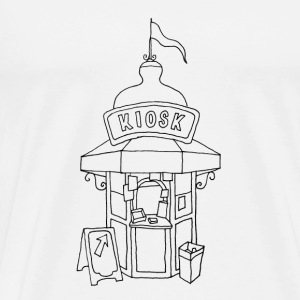 Kiosk in Lissabon Bags & Backpacks - Men's Premium T-Shirt