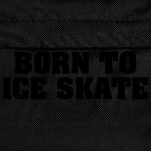 born to ice skate - Kids' Backpack