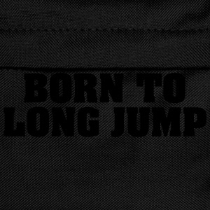 born to long jump - Kids' Backpack