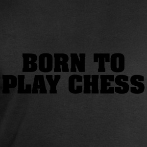 born to play chess - Men's Sweatshirt by Stanley & Stella