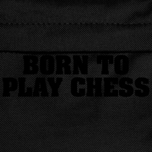 born to play chess - Kids' Backpack