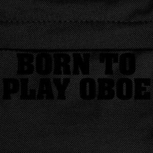 born to play oboe - Kinder Rucksack
