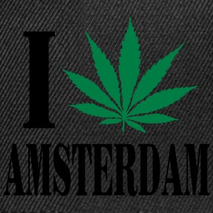 I love amsterdam Sweat-shirts - Casquette snapback