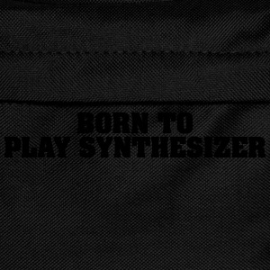 born to play synthesizer - Kids' Backpack