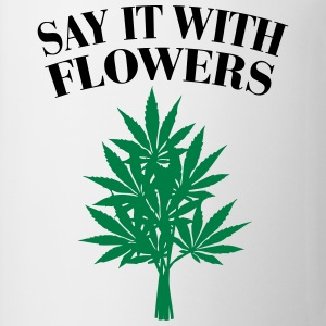 Cannabis - Say it with Flowers Gensere - Kopp