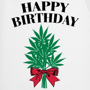 Cannabis - Happy Birthday  T-shirts - Keukenschort