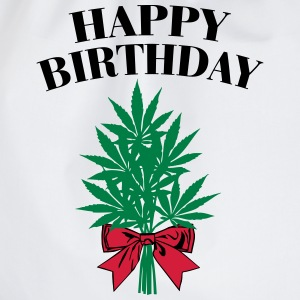Cannabis - Happy Birthday  Singlets - Gymbag