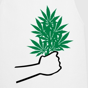 Cannabis  T-shirts - Keukenschort