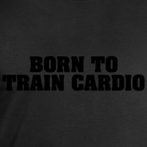 born to train cardio - Men's Sweatshirt by Stanley & Stella