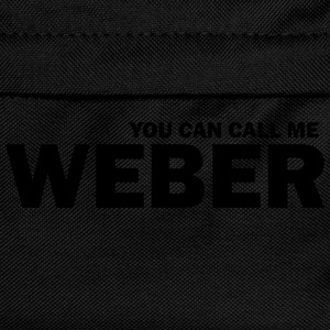 you can call me weber T-Shirts - Kinder Rucksack