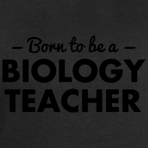 born to be a biology teacher - Men's Sweatshirt by Stanley & Stella