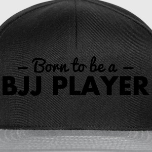 born to be a bjj player - Snapback Cap