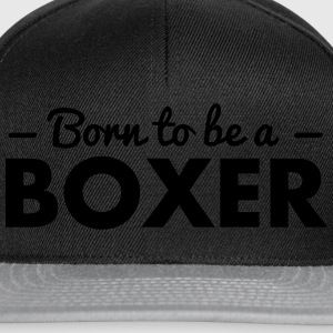 born to be a boxer - Snapback Cap