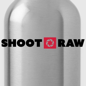 shoot raw T-Shirts - Trinkflasche