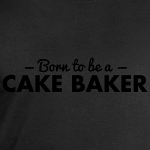 born to be a cake baker - Men's Sweatshirt by Stanley & Stella