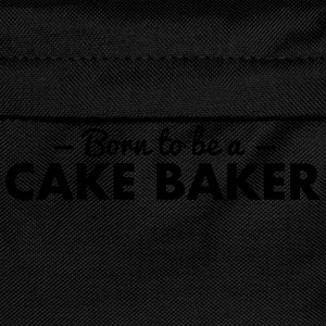 born to be a cake baker - Kids' Backpack
