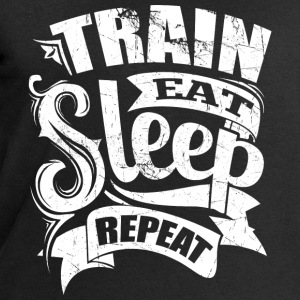 Train Gym Sports Quotes - Men's Sweatshirt by Stanley & Stella