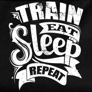 Train Gym Sports Quotes - Kids' Backpack