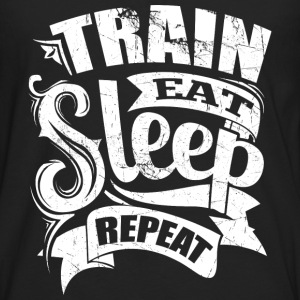 Train Gym Sports Quotes - Men's Premium Longsleeve Shirt