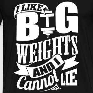 Big Weights Funny Gym - Men's Premium T-Shirt