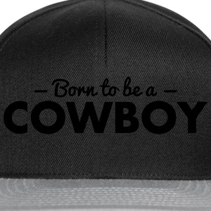 born to be a cricket cowboy - Snapback Cap