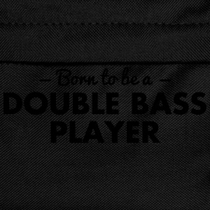 born to be a double bass player - Kids' Backpack