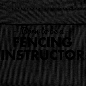 born to be a fencing instructor - Kids' Backpack