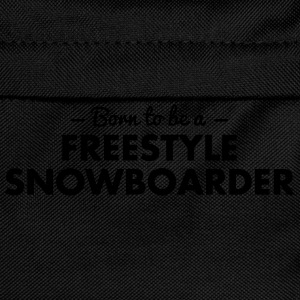 born to be a freestyle snowboarder - Kids' Backpack