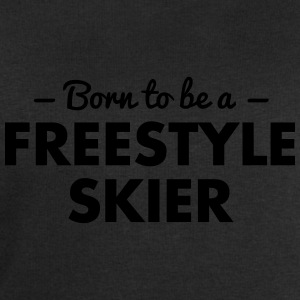 born to be a freestyle skier - Men's Sweatshirt by Stanley & Stella