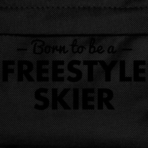 born to be a freestyle skier - Kids' Backpack