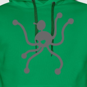 octopus with six legs - Men's Premium Hoodie