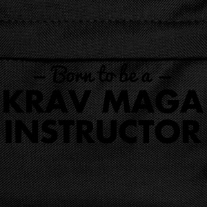 born to be a krav maga instructor - Kids' Backpack