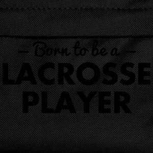 born to be a lacrosse player - Kinder Rucksack