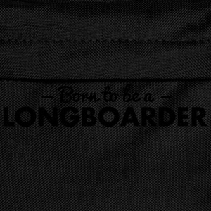born to be a longboarder - Kids' Backpack
